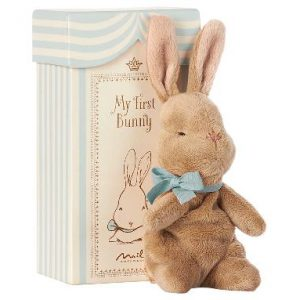 My First Bunny In A Box Blue 0