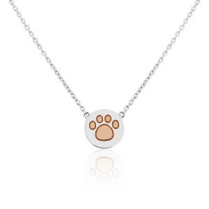 Paw Print Necklace 0