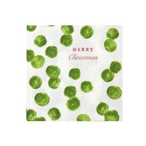 Sprout Napkins Merry Christmas 0