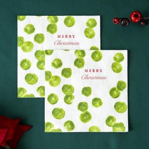Sprout Napkins Merry Christmas 1